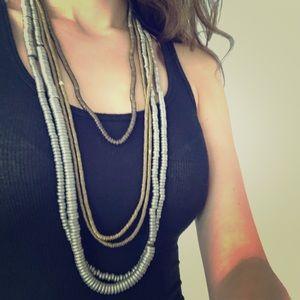 Jewelry - Set of metal necklaces